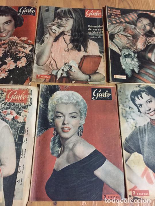 Coleccionismo de Revista Garbo: Antiguo gran lote de 20 revista / revistas Garbo año 1954 varios años - Foto 4 - 230631395