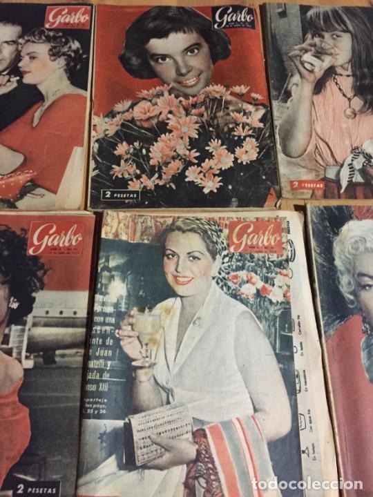 Coleccionismo de Revista Garbo: Antiguo gran lote de 20 revista / revistas Garbo año 1954 varios años - Foto 5 - 230631395