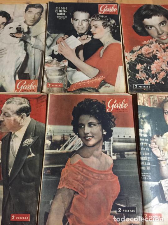 Coleccionismo de Revista Garbo: Antiguo gran lote de 20 revista / revistas Garbo año 1954 varios años - Foto 6 - 230631395