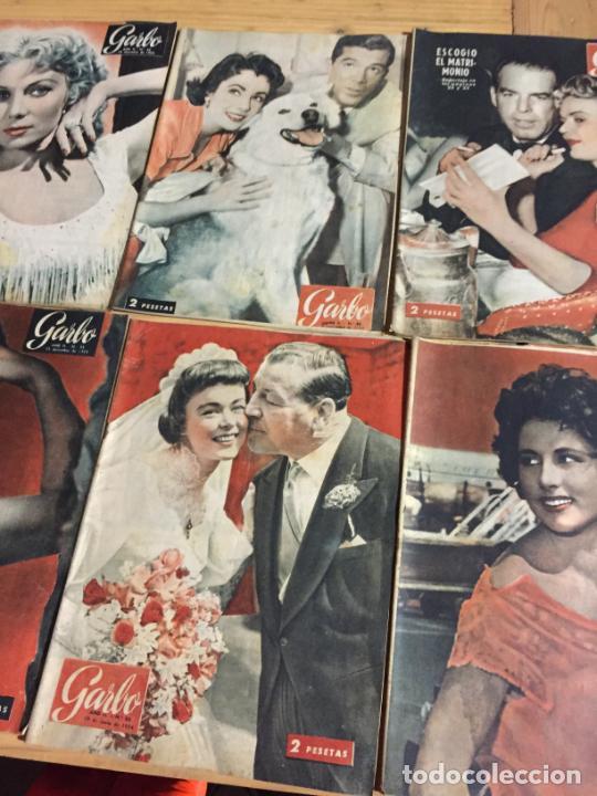 Coleccionismo de Revista Garbo: Antiguo gran lote de 20 revista / revistas Garbo año 1954 varios años - Foto 7 - 230631395