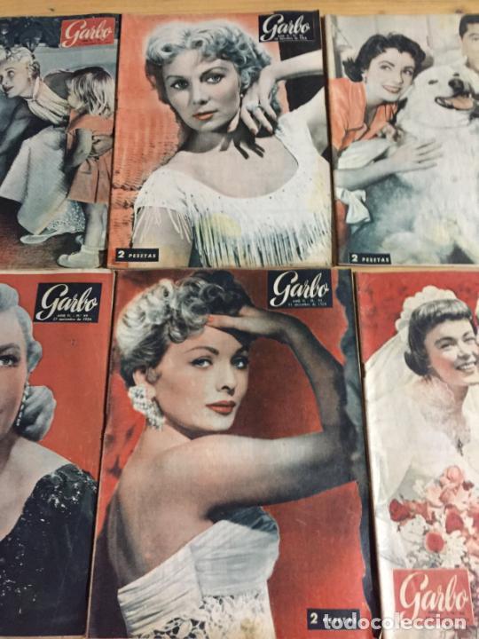 Coleccionismo de Revista Garbo: Antiguo gran lote de 20 revista / revistas Garbo año 1954 varios años - Foto 8 - 230631395