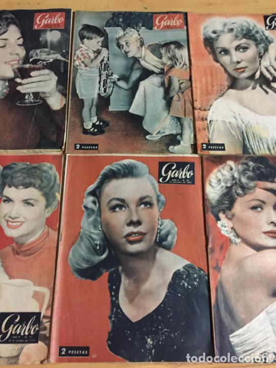 Coleccionismo de Revista Garbo: Antiguo gran lote de 20 revista / revistas Garbo año 1954 varios años - Foto 9 - 230631395