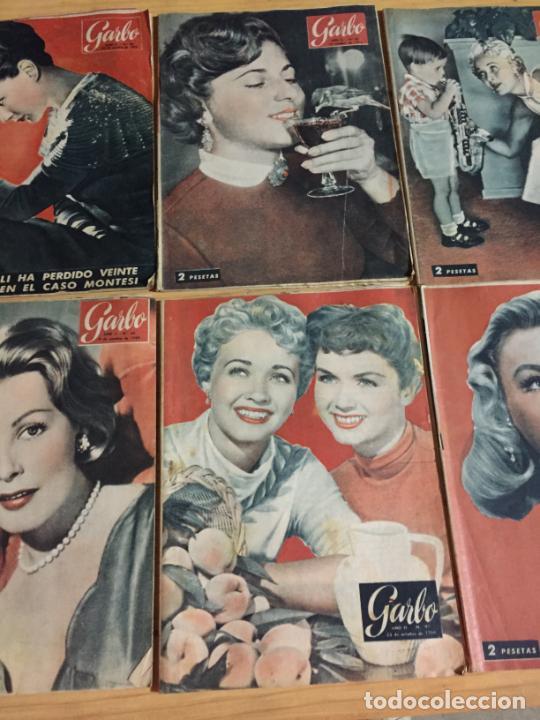 Coleccionismo de Revista Garbo: Antiguo gran lote de 20 revista / revistas Garbo año 1954 varios años - Foto 10 - 230631395