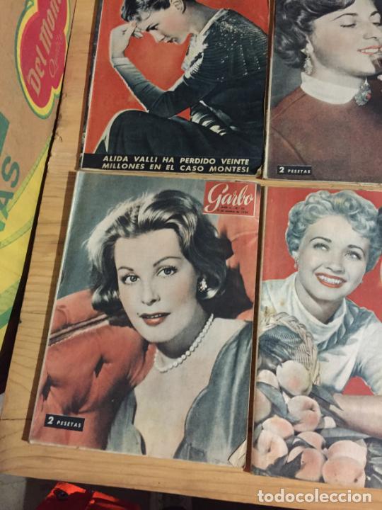 Coleccionismo de Revista Garbo: Antiguo gran lote de 20 revista / revistas Garbo año 1954 varios años - Foto 11 - 230631395