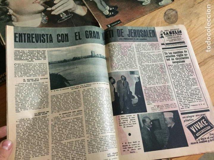 Coleccionismo de Revista Garbo: Antiguo gran lote de 20 revista / revistas Garbo año 1954 varios años - Foto 14 - 230631395