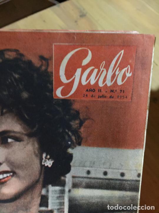Coleccionismo de Revista Garbo: Antiguo gran lote de 20 revista / revistas Garbo año 1954 varios años - Foto 15 - 230631395