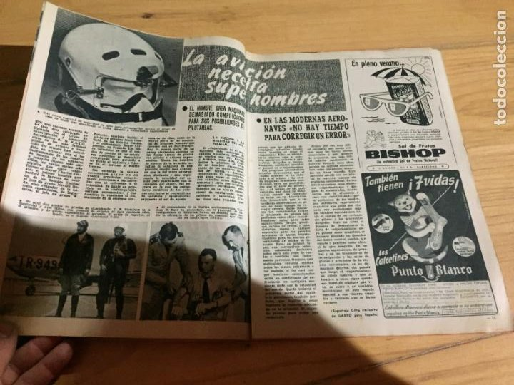 Coleccionismo de Revista Garbo: Antiguo gran lote de 20 revista / revistas Garbo año 1954 varios años - Foto 16 - 230631395