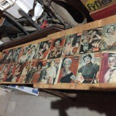Coleccionismo de Revista Garbo: ANTIGUO GRAN LOTE DE 20 REVISTA / REVISTAS GARBO AÑO 1954 VARIOS AÑOS. Lote 230631395