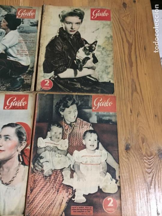 Coleccionismo de Revista Garbo: Antiguo gran lote de 20 revista / revistas Garbo año 1957 varios años - Foto 2 - 230631545