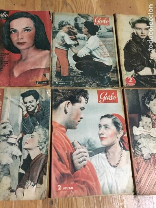 Coleccionismo de Revista Garbo: Antiguo gran lote de 20 revista / revistas Garbo año 1957 varios años - Foto 3 - 230631545