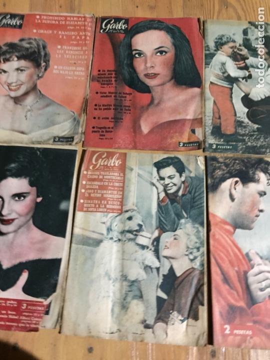 Coleccionismo de Revista Garbo: Antiguo gran lote de 20 revista / revistas Garbo año 1957 varios años - Foto 4 - 230631545