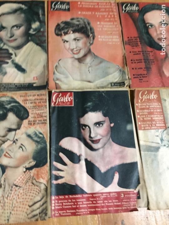 Coleccionismo de Revista Garbo: Antiguo gran lote de 20 revista / revistas Garbo año 1957 varios años - Foto 5 - 230631545