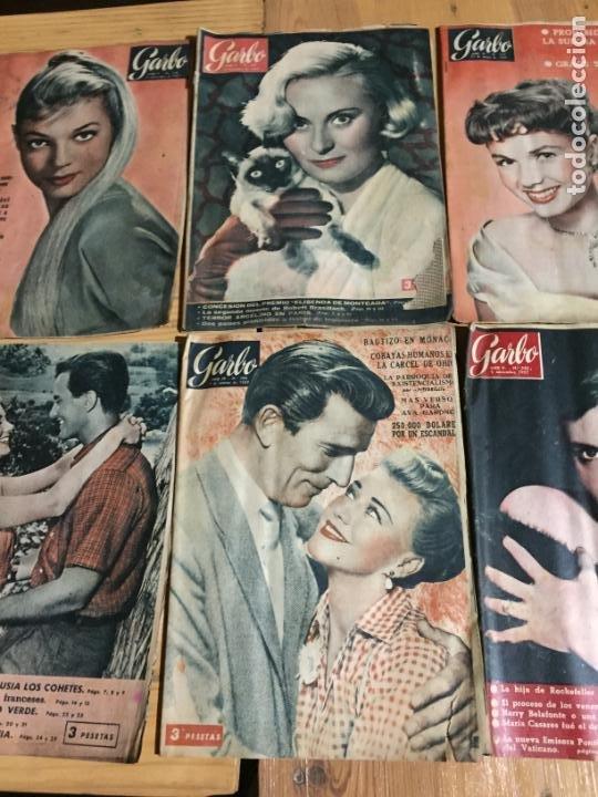 Coleccionismo de Revista Garbo: Antiguo gran lote de 20 revista / revistas Garbo año 1957 varios años - Foto 6 - 230631545