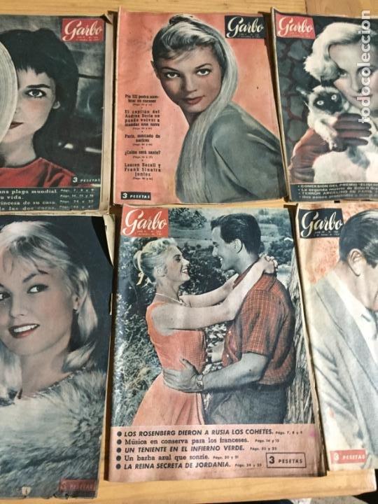 Coleccionismo de Revista Garbo: Antiguo gran lote de 20 revista / revistas Garbo año 1957 varios años - Foto 7 - 230631545