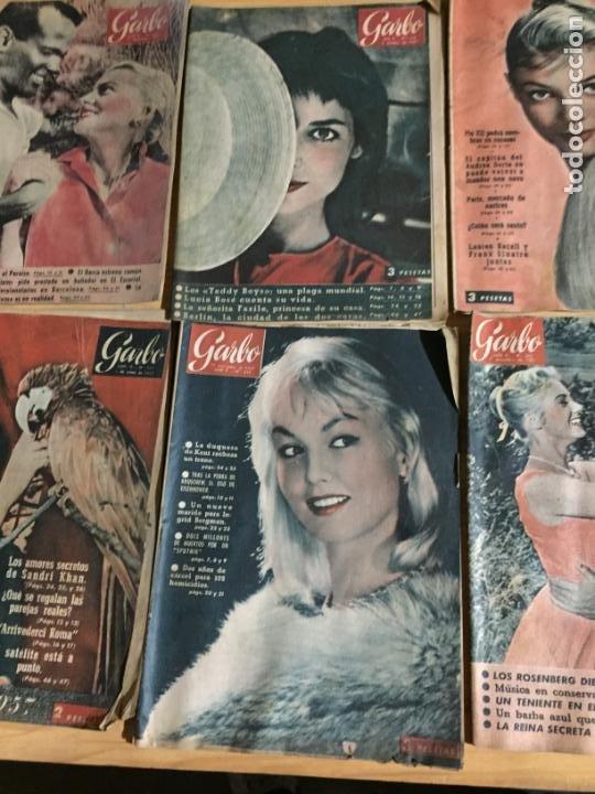 Coleccionismo de Revista Garbo: Antiguo gran lote de 20 revista / revistas Garbo año 1957 varios años - Foto 8 - 230631545