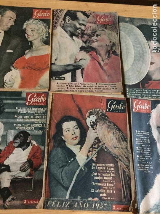 Coleccionismo de Revista Garbo: Antiguo gran lote de 20 revista / revistas Garbo año 1957 varios años - Foto 9 - 230631545