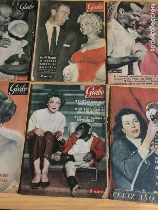 Coleccionismo de Revista Garbo: Antiguo gran lote de 20 revista / revistas Garbo año 1957 varios años - Foto 10 - 230631545
