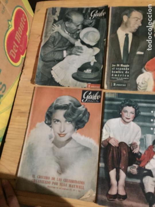 Coleccionismo de Revista Garbo: Antiguo gran lote de 20 revista / revistas Garbo año 1957 varios años - Foto 11 - 230631545