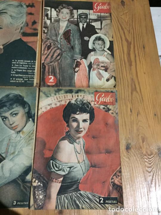 Coleccionismo de Revista Garbo: Antiguo gran lote de 20 revista / revistas Garbo año 1958 varios años - Foto 2 - 230631615
