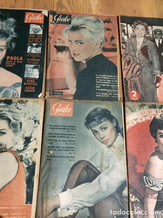 Coleccionismo de Revista Garbo: Antiguo gran lote de 20 revista / revistas Garbo año 1958 varios años - Foto 3 - 230631615