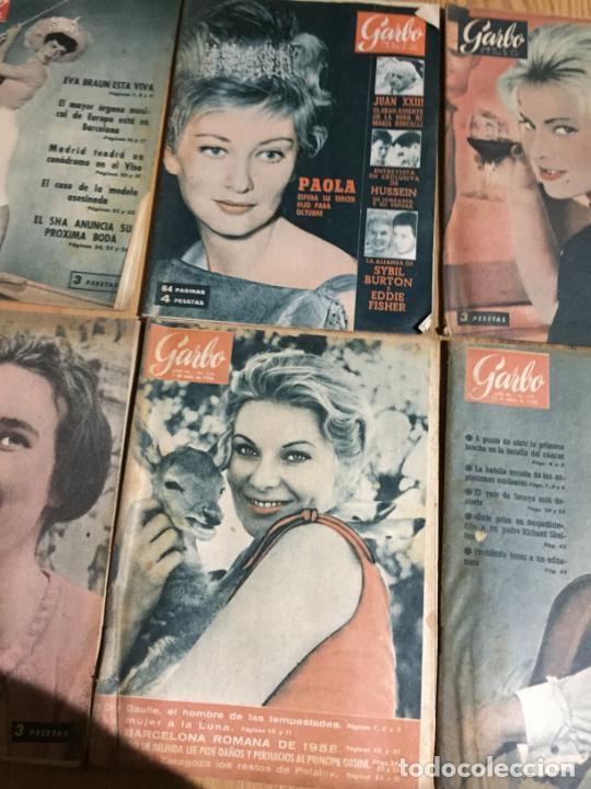 Coleccionismo de Revista Garbo: Antiguo gran lote de 20 revista / revistas Garbo año 1958 varios años - Foto 4 - 230631615