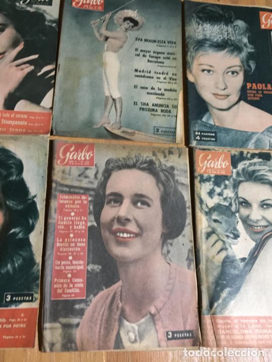 Coleccionismo de Revista Garbo: Antiguo gran lote de 20 revista / revistas Garbo año 1958 varios años - Foto 5 - 230631615