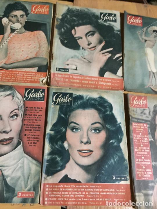 Coleccionismo de Revista Garbo: Antiguo gran lote de 20 revista / revistas Garbo año 1958 varios años - Foto 6 - 230631615