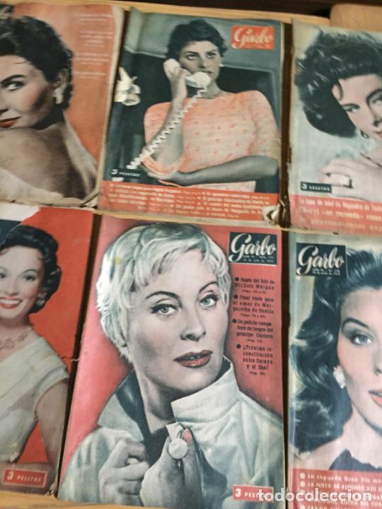 Coleccionismo de Revista Garbo: Antiguo gran lote de 20 revista / revistas Garbo año 1958 varios años - Foto 7 - 230631615