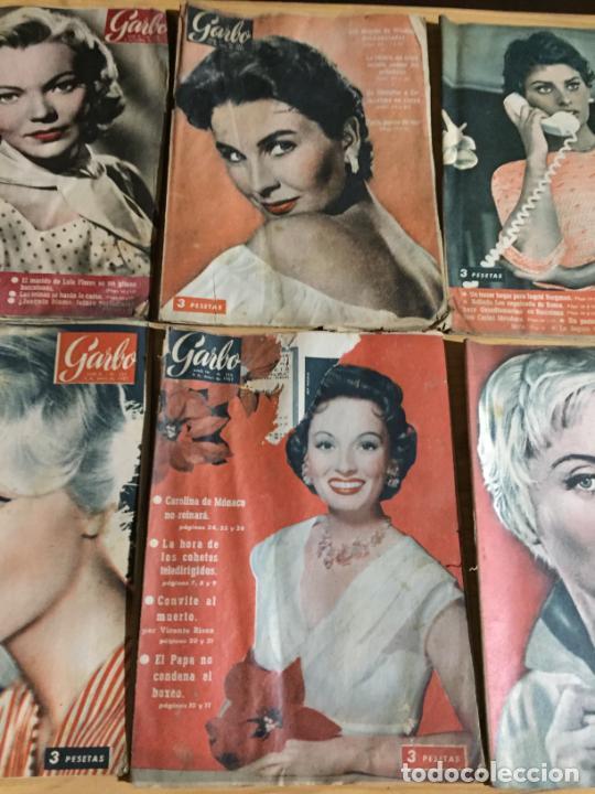 Coleccionismo de Revista Garbo: Antiguo gran lote de 20 revista / revistas Garbo año 1958 varios años - Foto 8 - 230631615