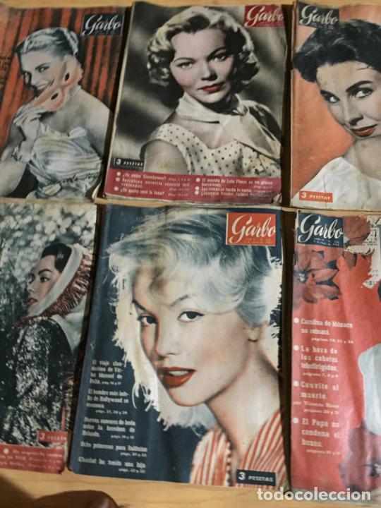 Coleccionismo de Revista Garbo: Antiguo gran lote de 20 revista / revistas Garbo año 1958 varios años - Foto 9 - 230631615