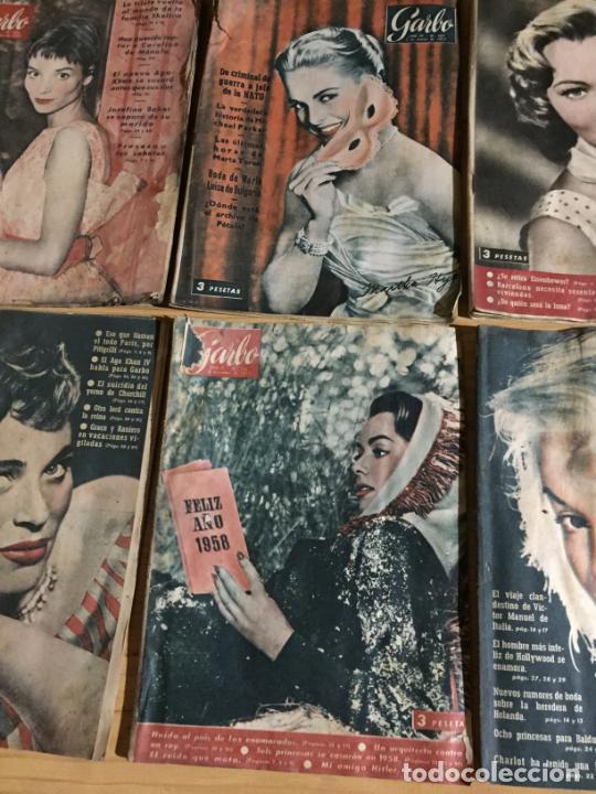 Coleccionismo de Revista Garbo: Antiguo gran lote de 20 revista / revistas Garbo año 1958 varios años - Foto 10 - 230631615