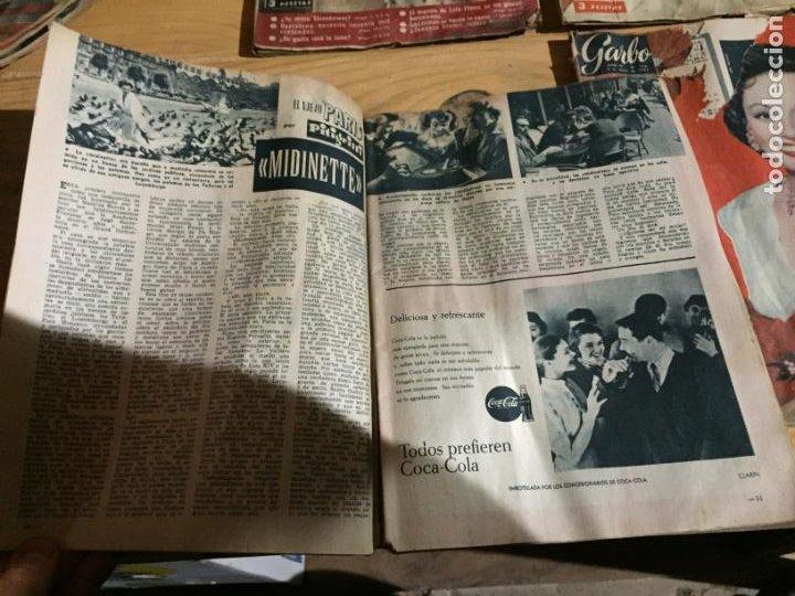 Coleccionismo de Revista Garbo: Antiguo gran lote de 20 revista / revistas Garbo año 1958 varios años - Foto 13 - 230631615