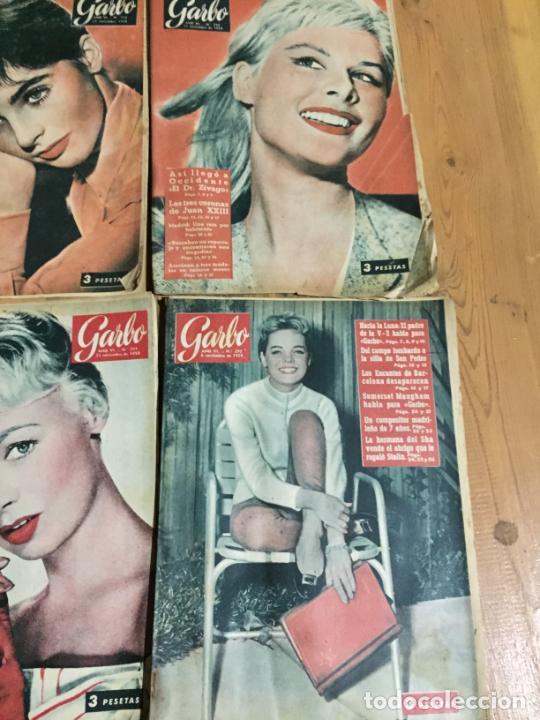Coleccionismo de Revista Garbo: Antiguo gran lote de 18 revista / revistas Garbo año 1958 varios años - Foto 2 - 230631995