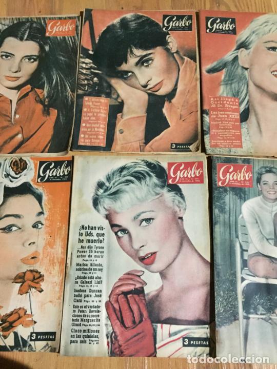 Coleccionismo de Revista Garbo: Antiguo gran lote de 18 revista / revistas Garbo año 1958 varios años - Foto 3 - 230631995