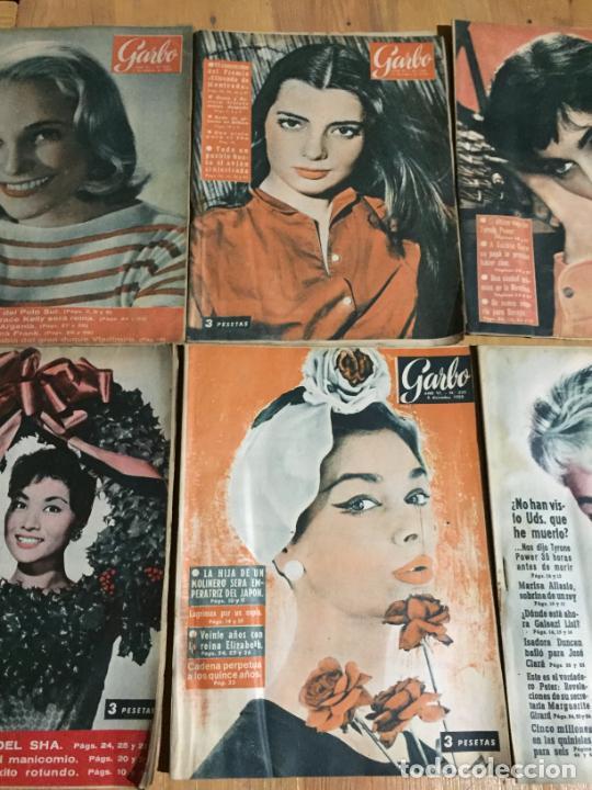 Coleccionismo de Revista Garbo: Antiguo gran lote de 18 revista / revistas Garbo año 1958 varios años - Foto 4 - 230631995