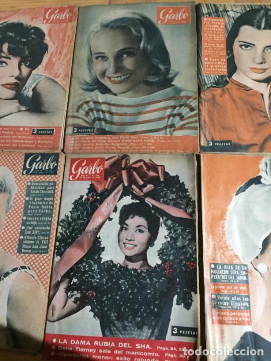 Coleccionismo de Revista Garbo: Antiguo gran lote de 18 revista / revistas Garbo año 1958 varios años - Foto 5 - 230631995