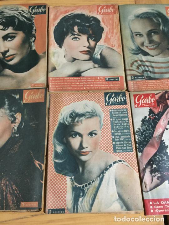 Coleccionismo de Revista Garbo: Antiguo gran lote de 18 revista / revistas Garbo año 1958 varios años - Foto 6 - 230631995