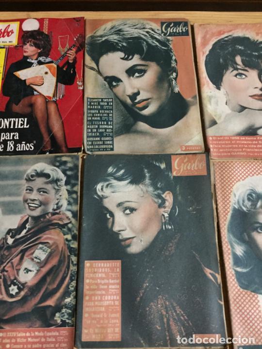 Coleccionismo de Revista Garbo: Antiguo gran lote de 18 revista / revistas Garbo año 1958 varios años - Foto 7 - 230631995