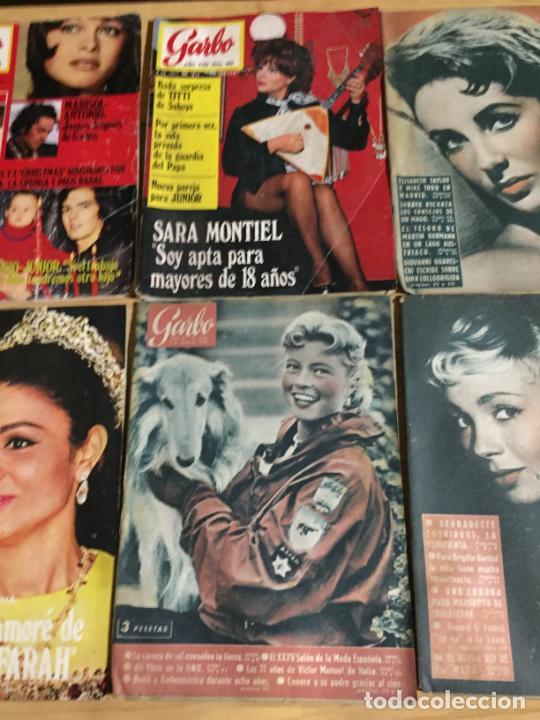 Coleccionismo de Revista Garbo: Antiguo gran lote de 18 revista / revistas Garbo año 1958 varios años - Foto 8 - 230631995