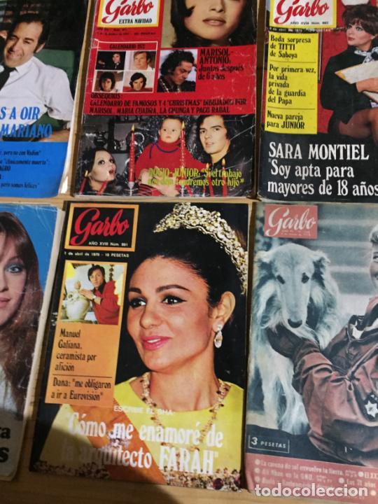 Coleccionismo de Revista Garbo: Antiguo gran lote de 18 revista / revistas Garbo año 1958 varios años - Foto 9 - 230631995