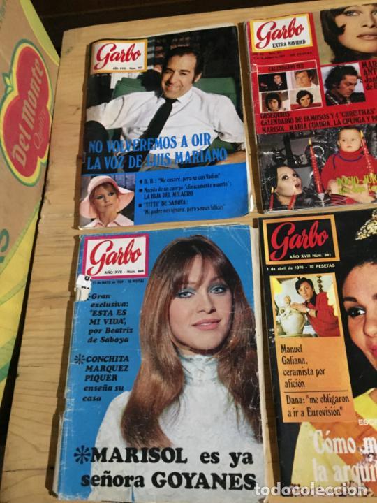 Coleccionismo de Revista Garbo: Antiguo gran lote de 18 revista / revistas Garbo año 1958 varios años - Foto 10 - 230631995