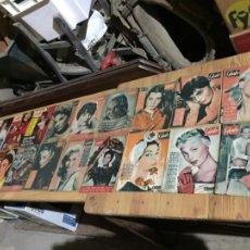 Coleccionismo de Revista Garbo: ANTIGUO GRAN LOTE DE 18 REVISTA / REVISTAS GARBO AÑO 1958 VARIOS AÑOS. Lote 230631995