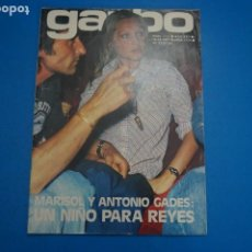 Collectionnisme de Magazine Garbo: REVISTA GARBO MARISOL ANTONIO GADES JAMES STWART TONY RONALD ROCIO JURADO LOLA FLORES Nº 1116 L13. Lote 234459210