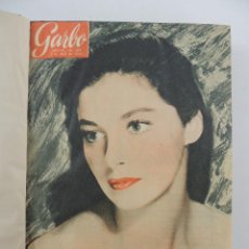 Collectionnisme de Magazine Garbo: COLECCION REVISTAS GARBO AÑO 1955 NUMEROS 107 DE 119. Lote 235438745