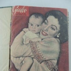 Collectionnisme de Magazine Garbo: COLECCION REVISTAS GARBO AÑO 1953 NUMEROS 28 DE 41. Lote 235439670