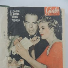 Collectionnisme de Magazine Garbo: COLECCION REVISTAS GARBO AÑO 1954 NUMEROS 68 DE 80. Lote 235440200