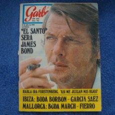 Collectionnisme de Magazine Garbo: REVISTA GARBO ROGER MOORE EL SANTO MIA FARROW CEREBRUM SYLVIE VARTAN Nº 905 L3. Lote 240482155