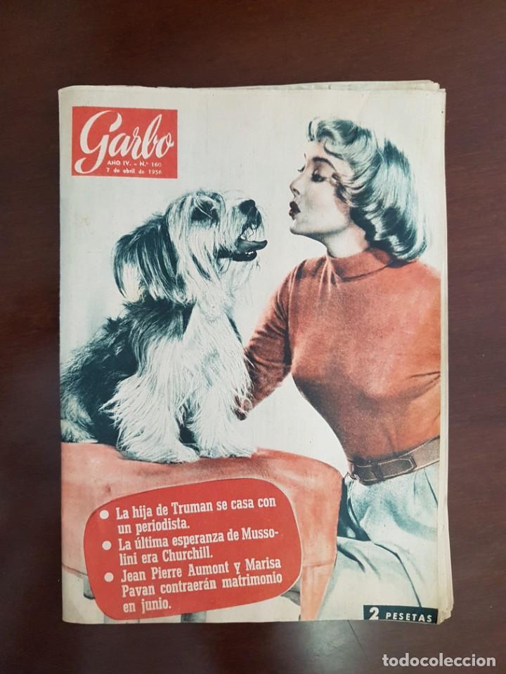 REVISTA GARBO Nº 160 - 7 DE ABRIL DE 1956 (Coleccionismo - Revistas y Periódicos Modernos (a partir de 1.940) - Revista Garbo)