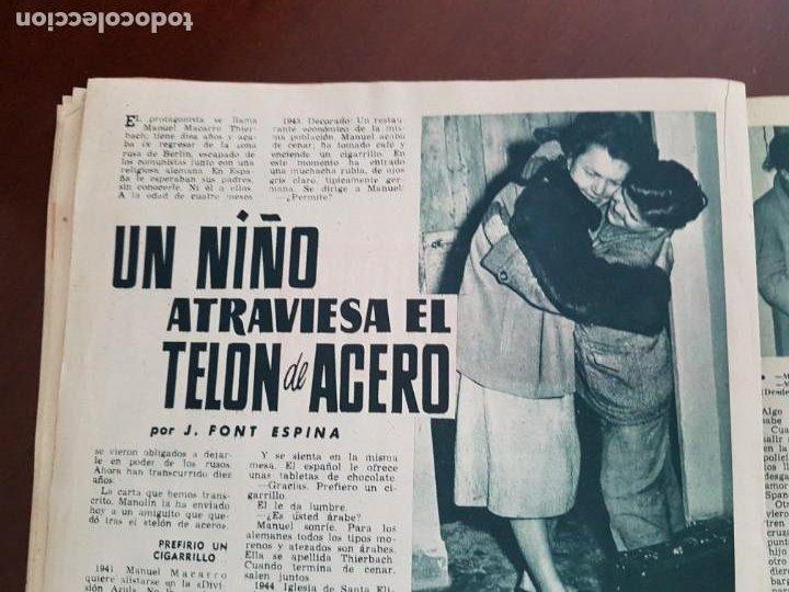 Coleccionismo de Revista Garbo: Revista Garbo nº 160 - 7 de Abril de 1956 - Foto 5 - 242402570