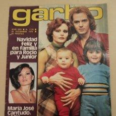 Coleccionismo de Revista Garbo: 1974 ROCÍO DÚRCAL REVISTA GARBO N 1130 DICIEMBRE. Lote 242886270
